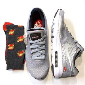 "Nike Air Max Zero ""Silver Bullet"" size 9.5"